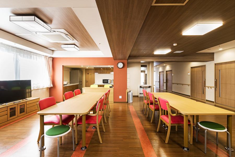 食堂兼生活スペース